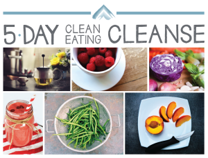 5 day clean eating cleanse cover