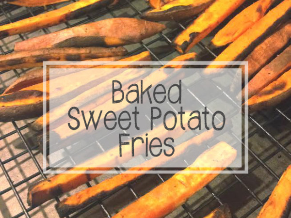 baked sweet potato fries_text