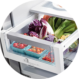 How to Keep Your Produce Fresh Longer veggies in fridge drawer